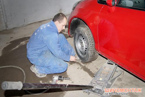 Балансировка колёс в Ростове